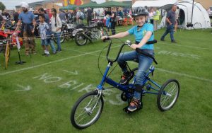 "No More ""No Bikes"" For Local Boy"