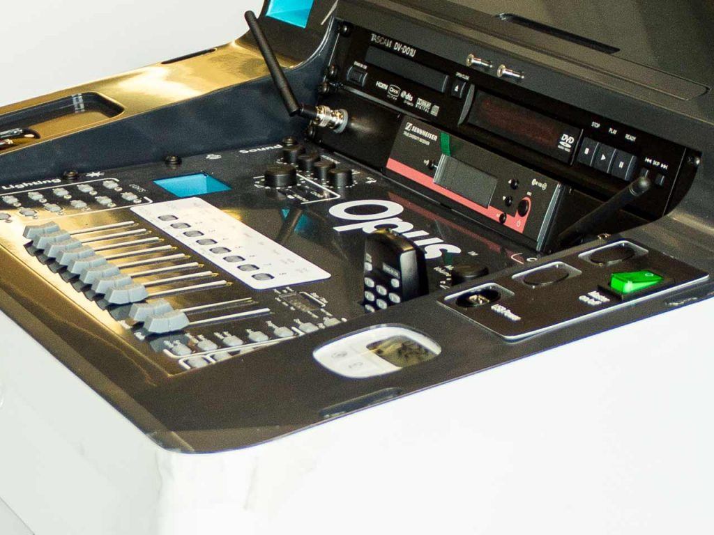 console for stage electrics